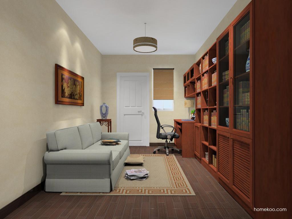 新中式主义书房家具C11321