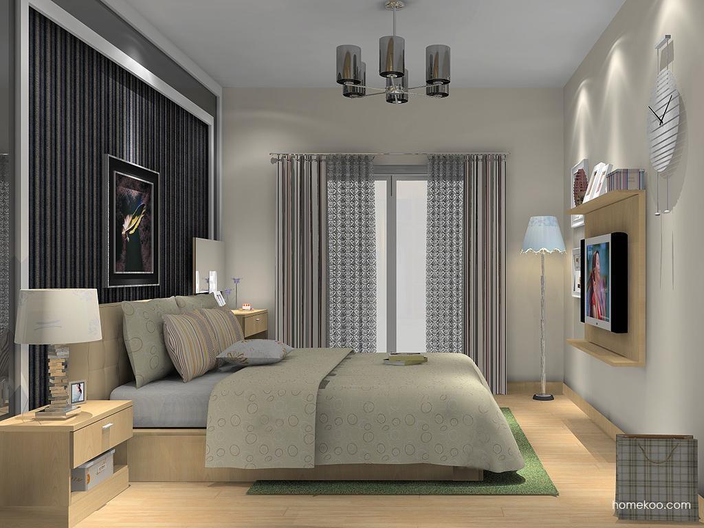 新实用主义卧房家具A13779