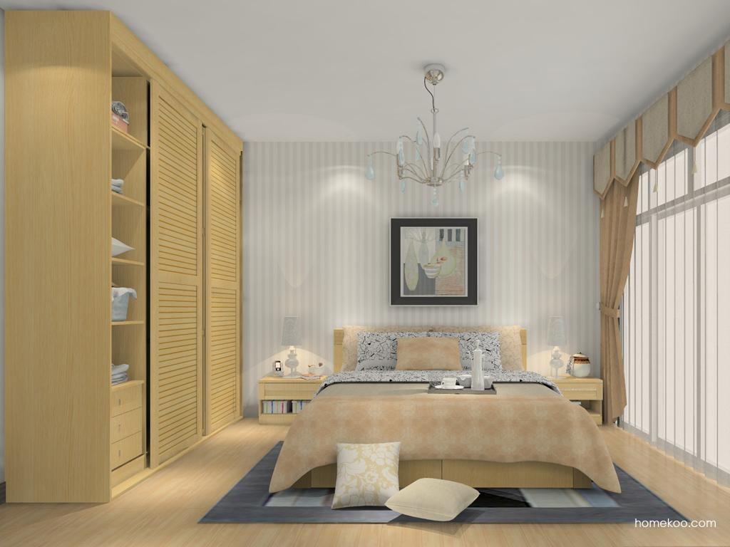 丹麦本色卧房家具A13794