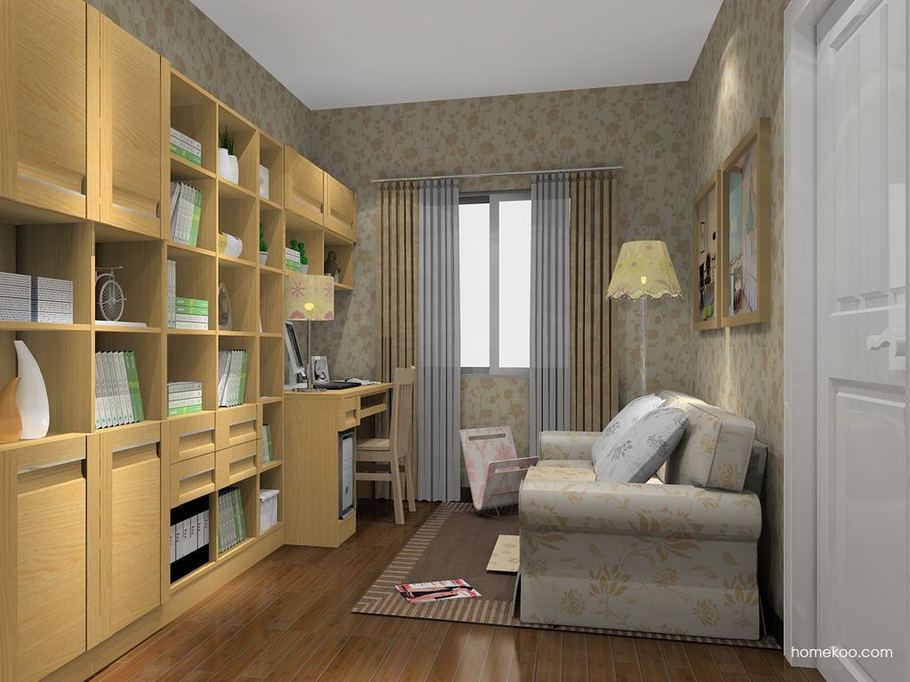 丹麦本色书房家具C11334