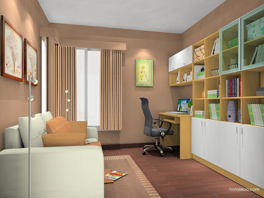 新实用主义书房家具C11337