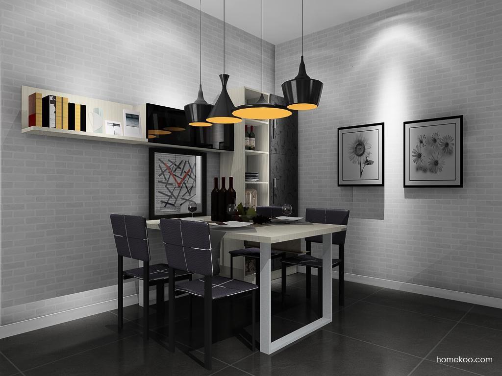 米兰剪影餐厅家具E10648