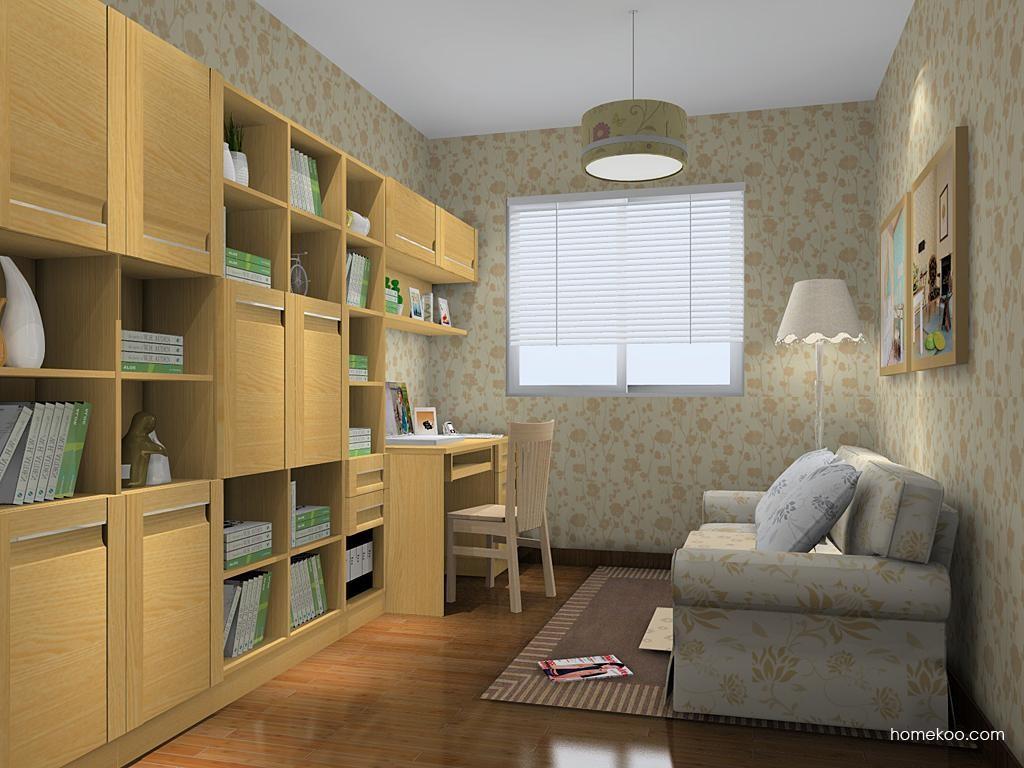 丹麦本色书房家具C11349