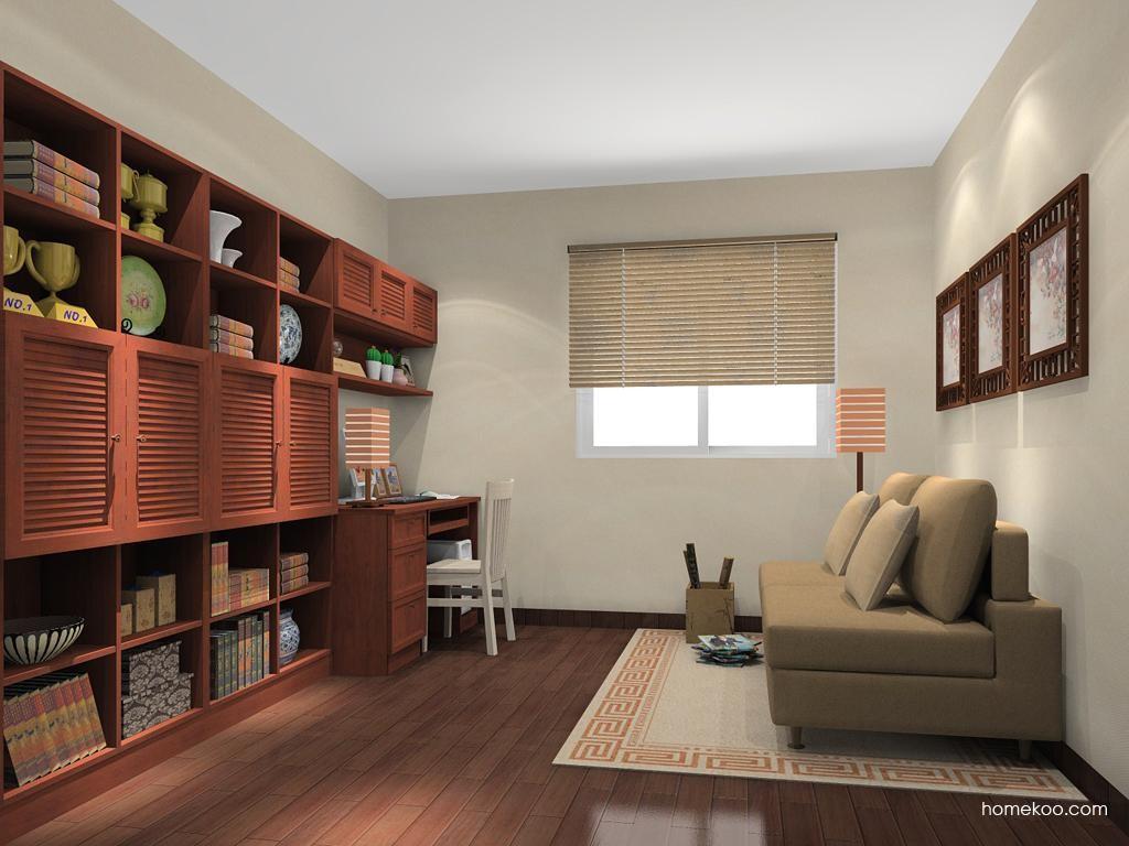 新中式主义书房家具C11352