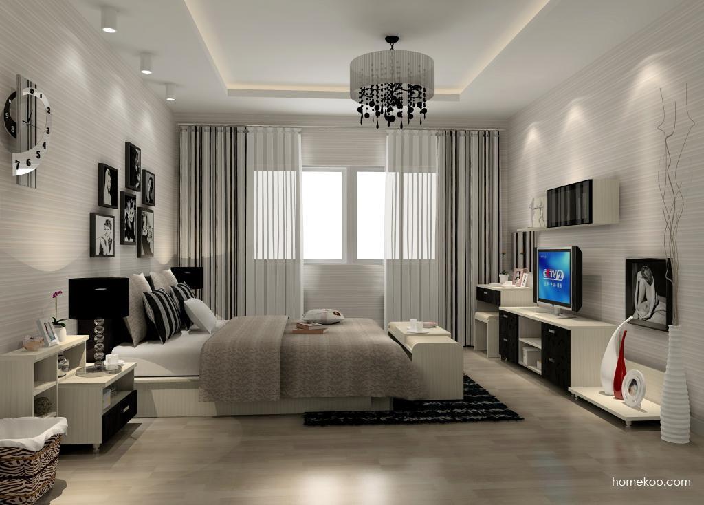 米兰剪影卧房家具A13823