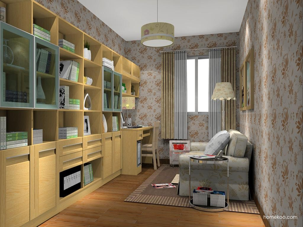 丹麦本色书房家具C11360