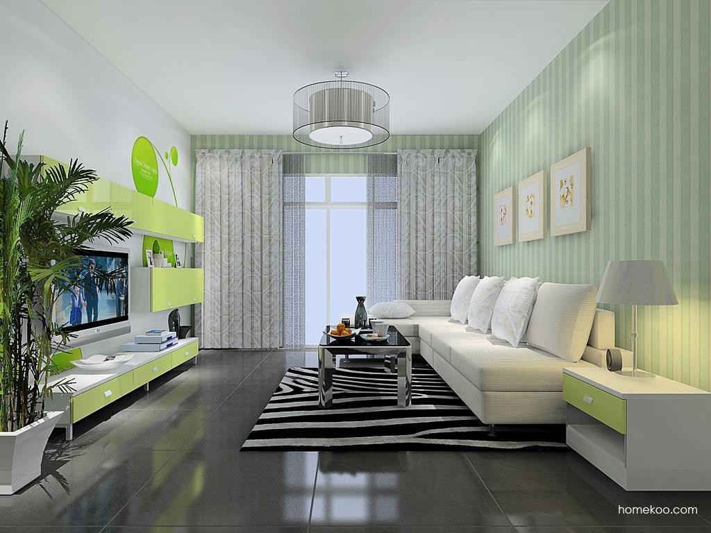浪漫主义客厅家具D13659