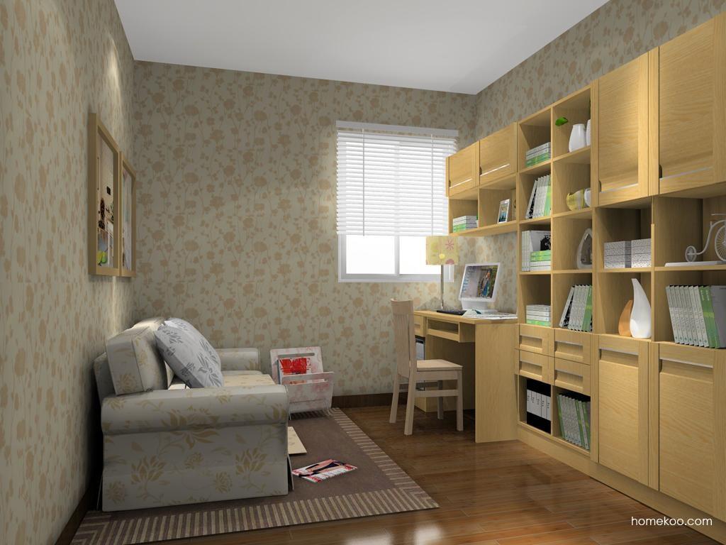 丹麦本色书房家具C11377