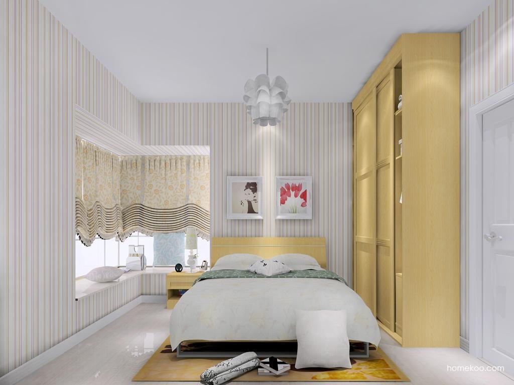 丹麦本色卧房家具A13851