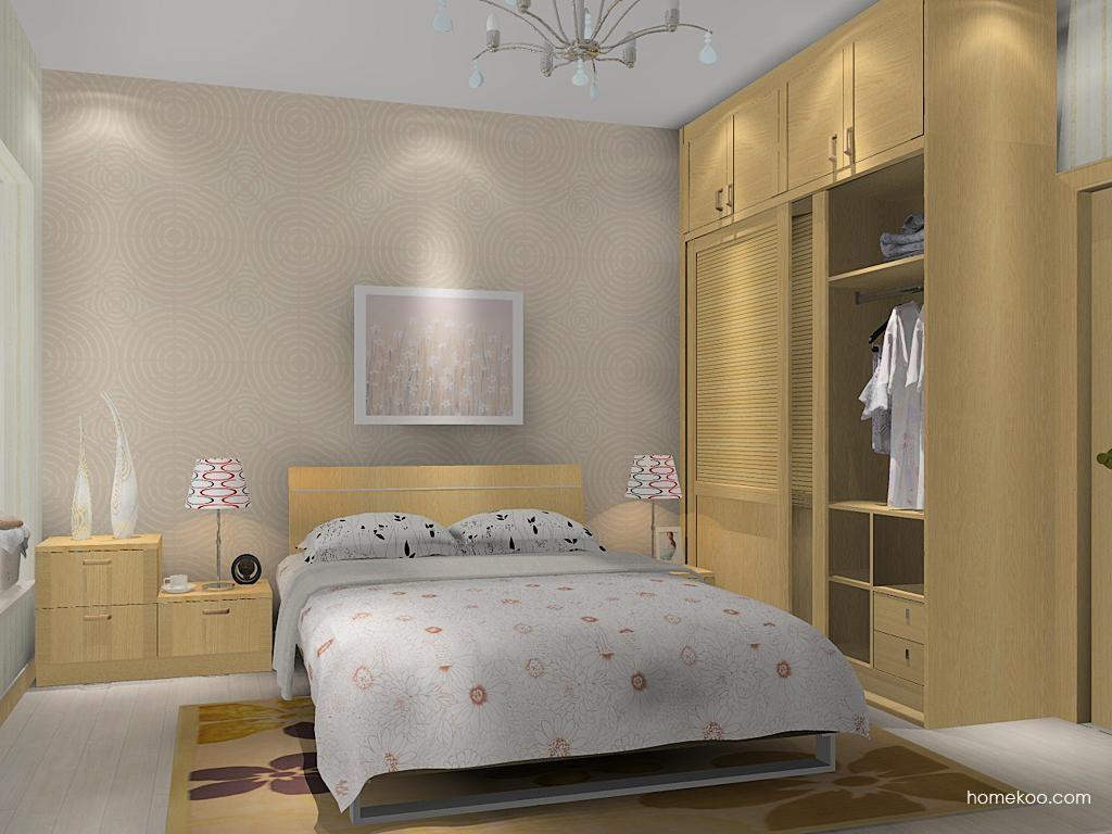 丹麦本色卧房家具A13854