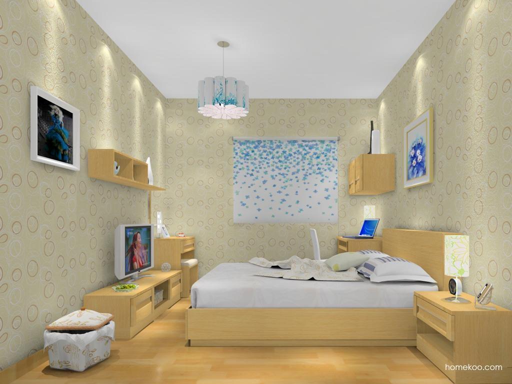 丹麦本色卧房家具A13859