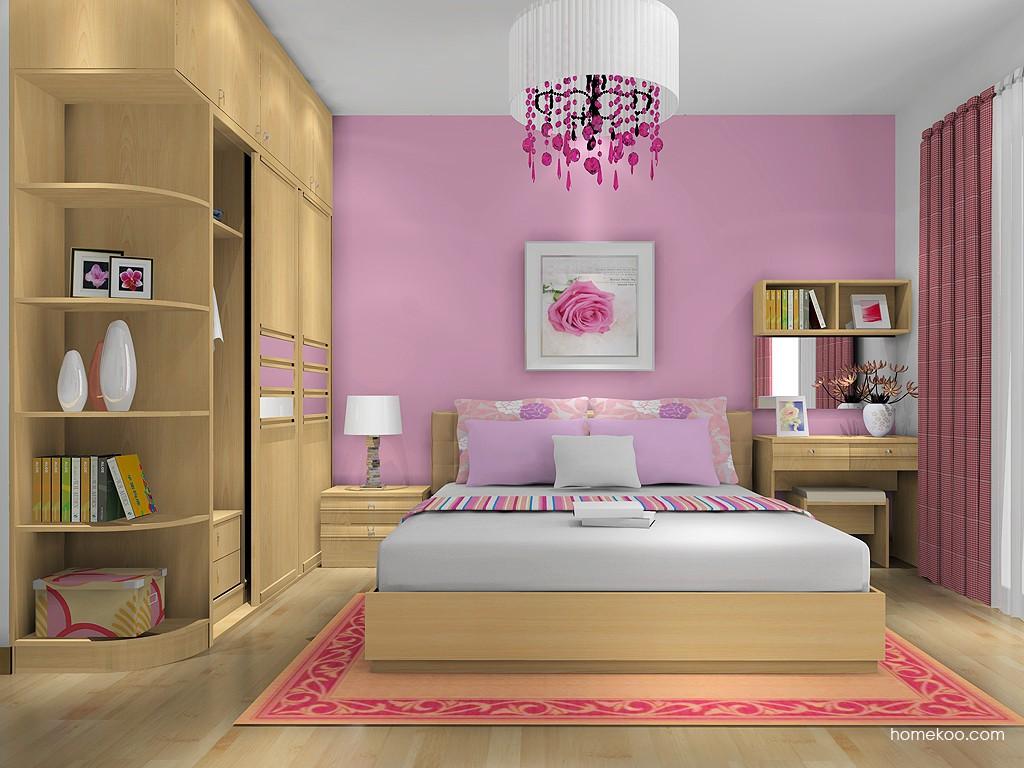 北美枫情卧房家具A13870