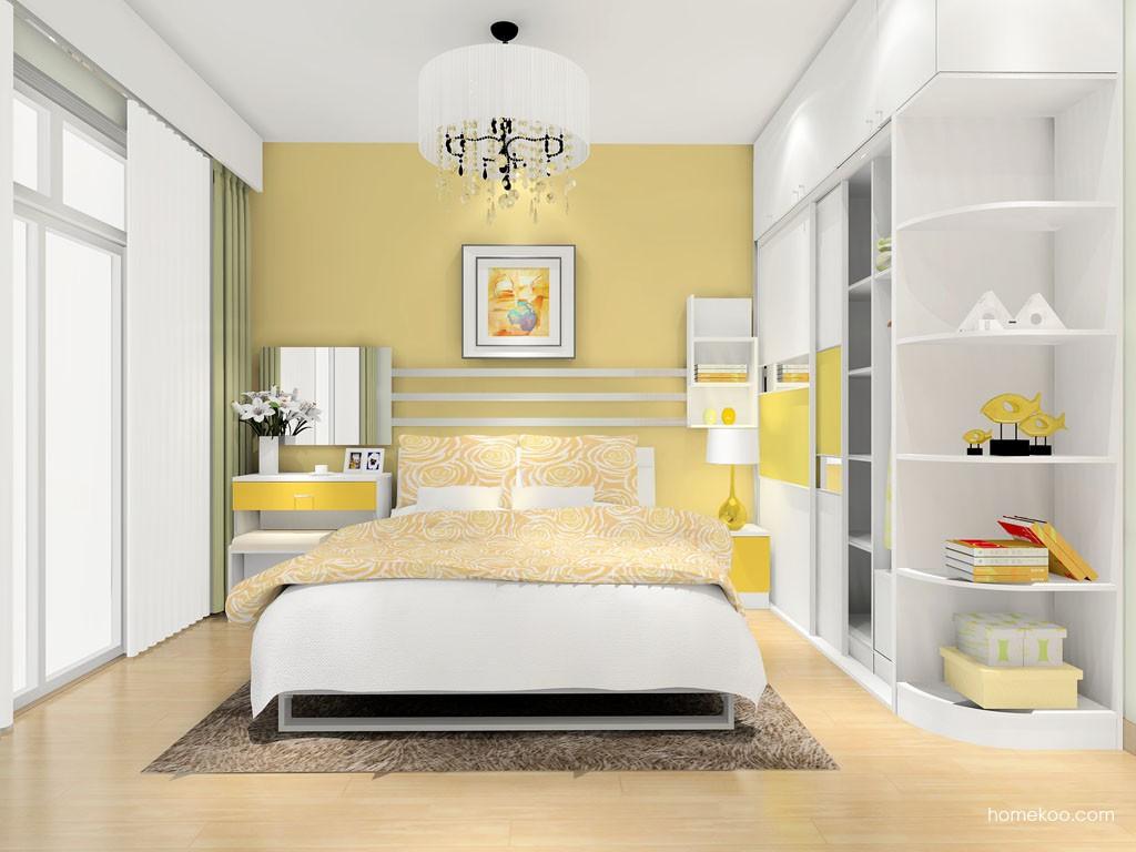 浪漫主义卧房家具A13875