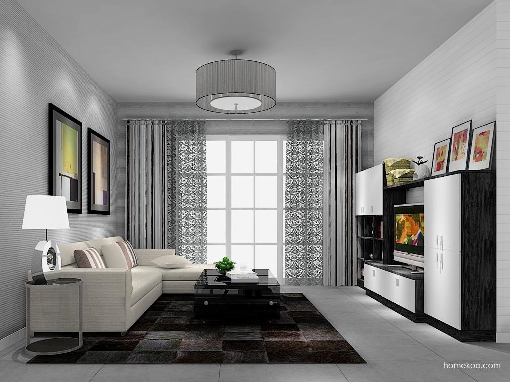 简约主义客厅家具D13671