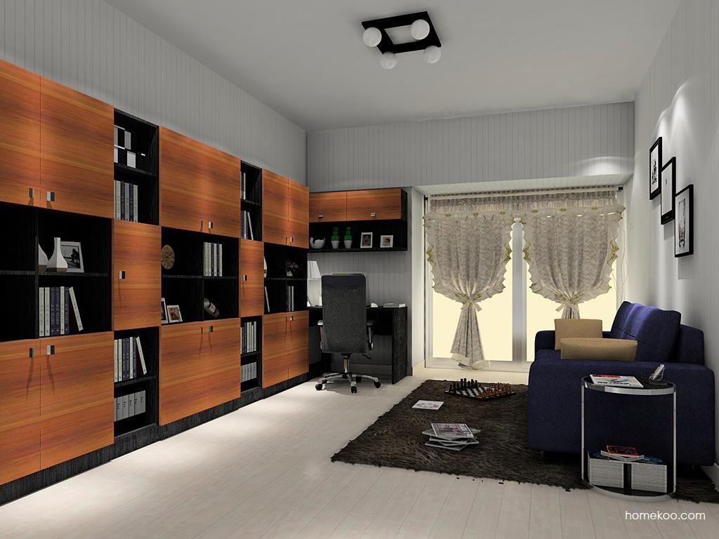 德国森林书房家具C11410