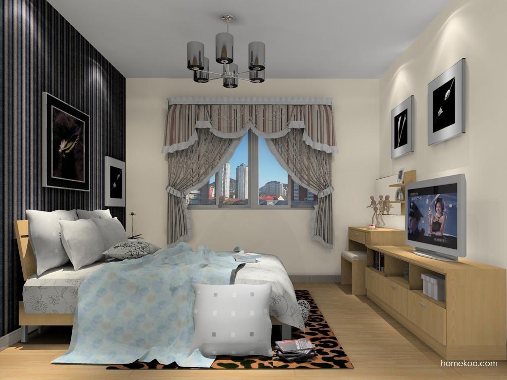 新实用主义卧房家具A13881