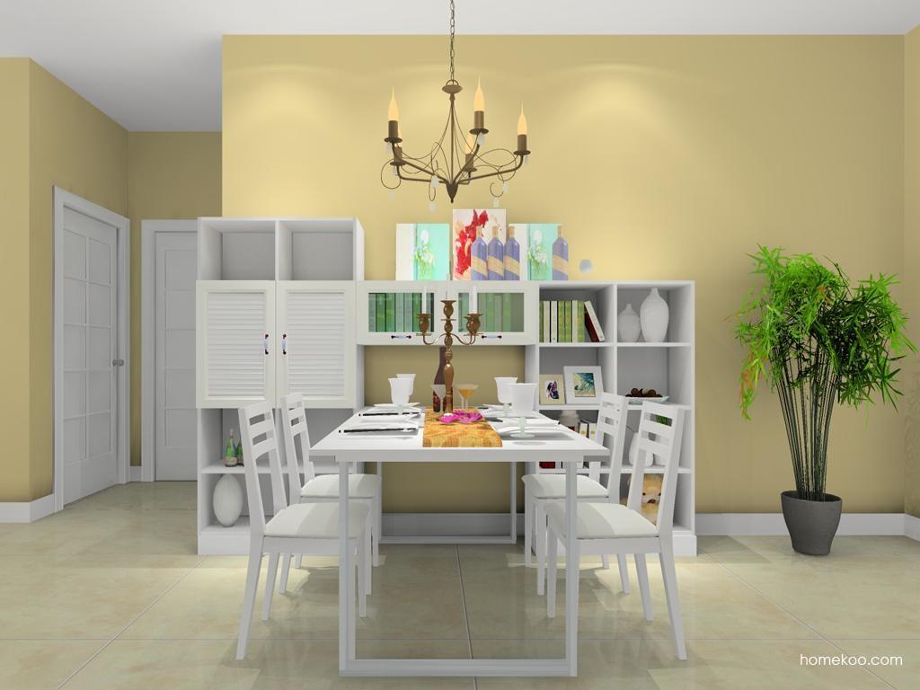 韩式田园餐厅家具E10671