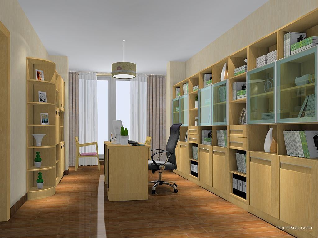 丹麦本色书房家具C11419
