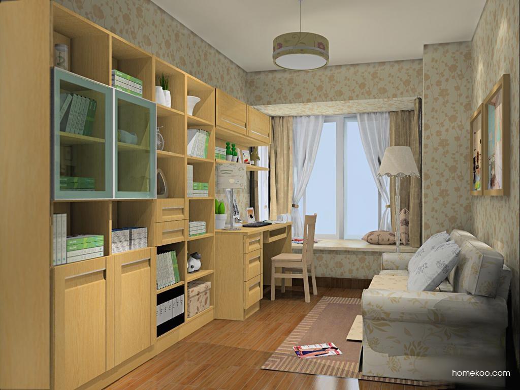 丹麦本色书房家具C11422