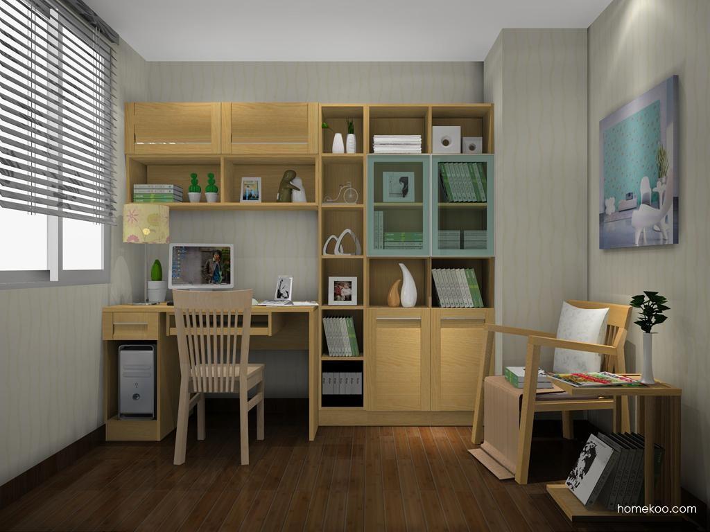 丹麦本色书房家具C11434