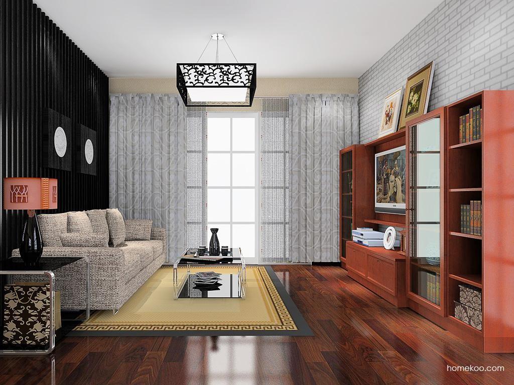 新中式主义客厅家具D13681