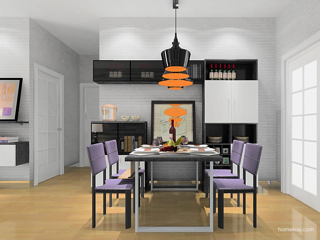 简约主义餐厅家具E10680