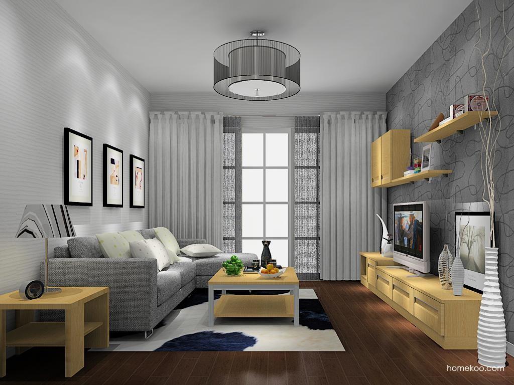 丹麦本色客厅家具D13685