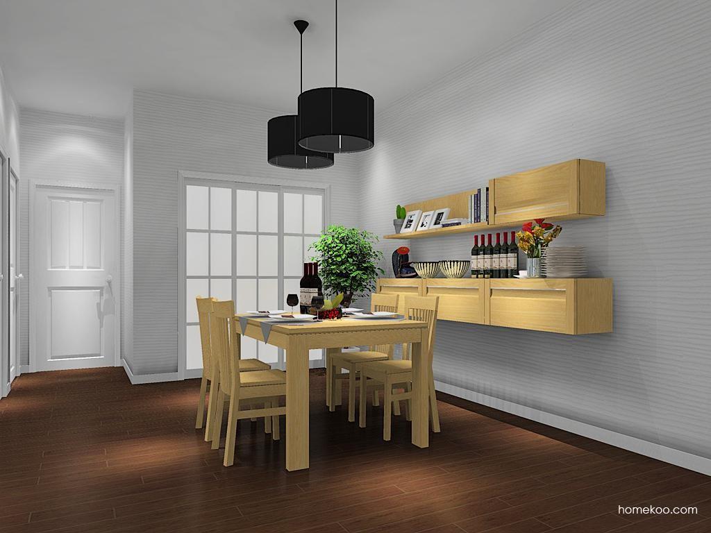 丹麦本色餐厅家具E10681