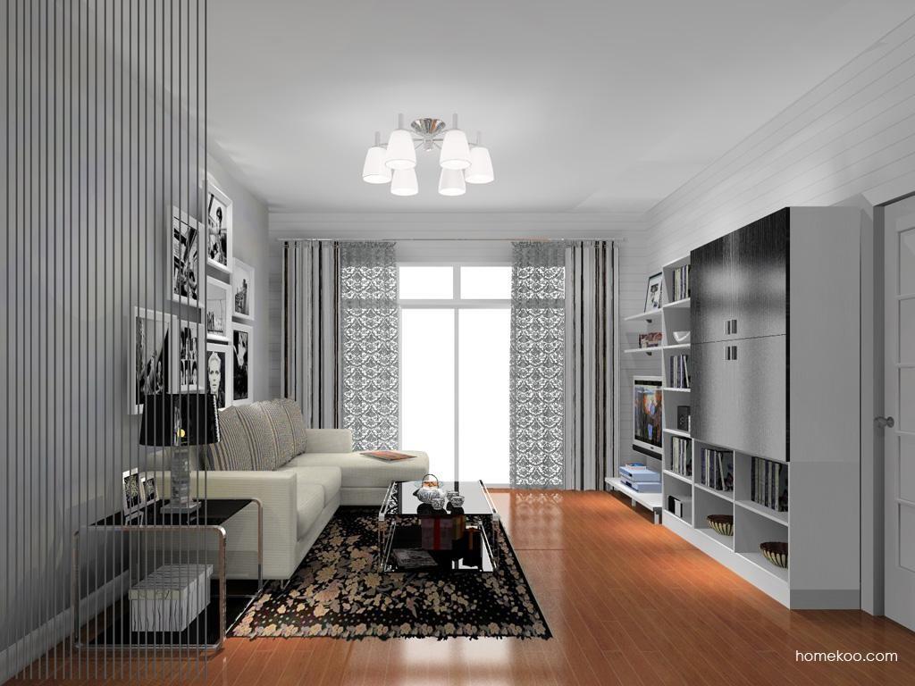 简约主义客厅家具D13687