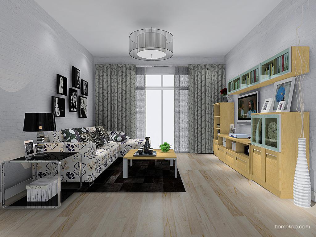 丹麦本色客厅家具D13689