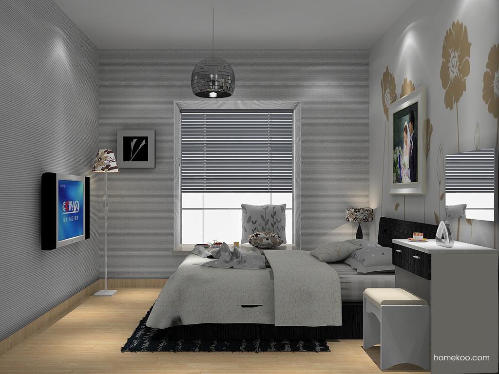 简约主义卧房家具A13903