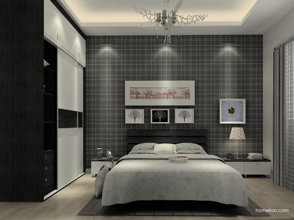 简约主义卧房家具A13906