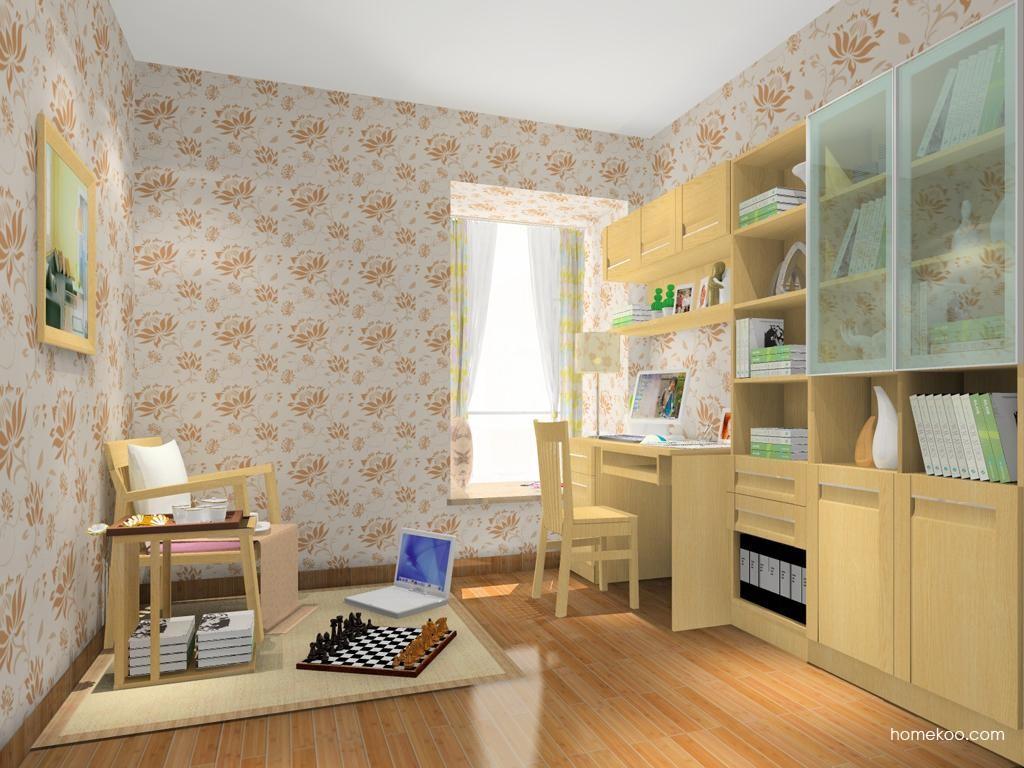 丹麦本色书房家具C11476