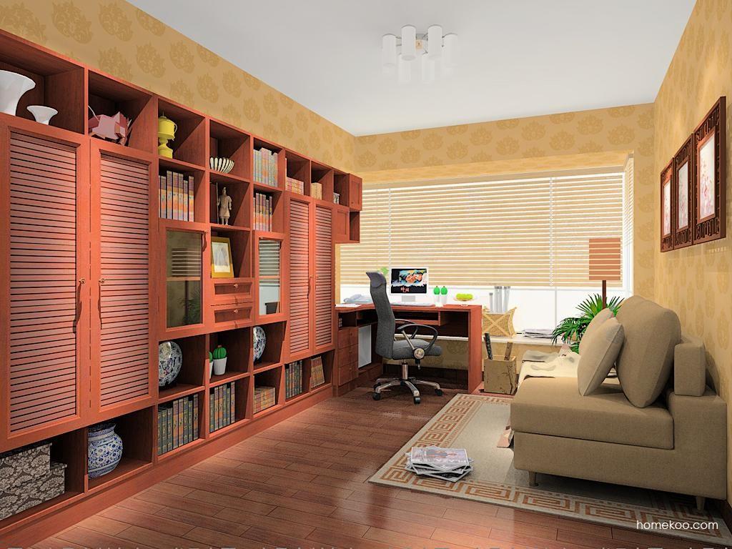 新中式主义书房家具C11480