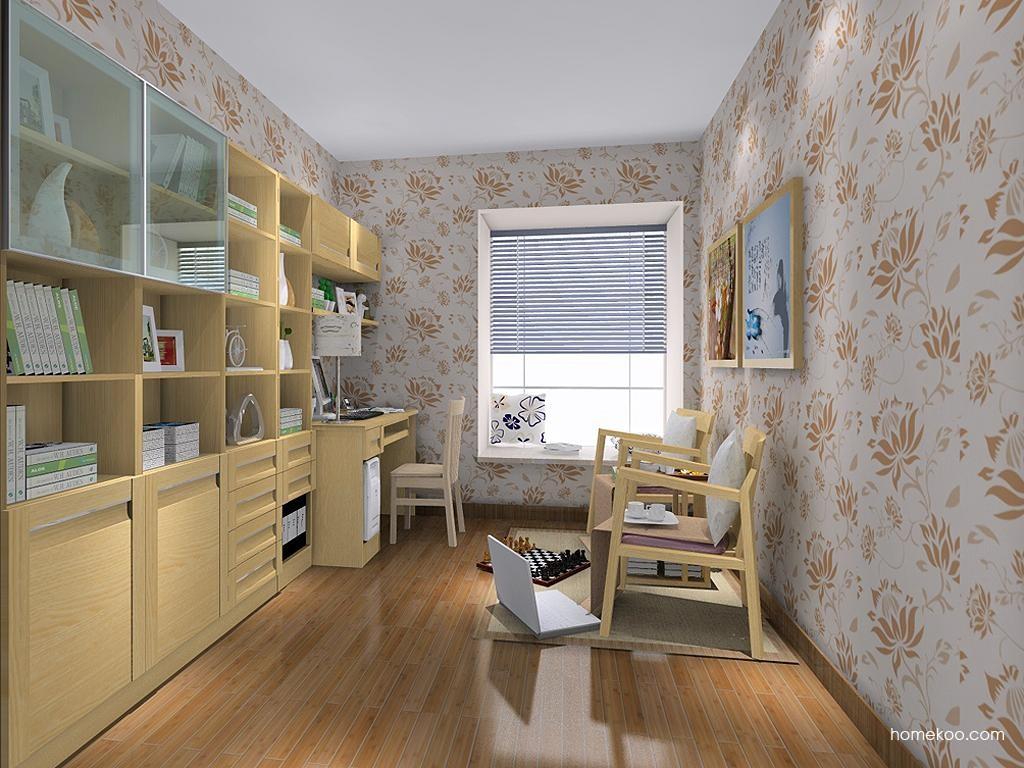 丹麦本色书房家具C11494