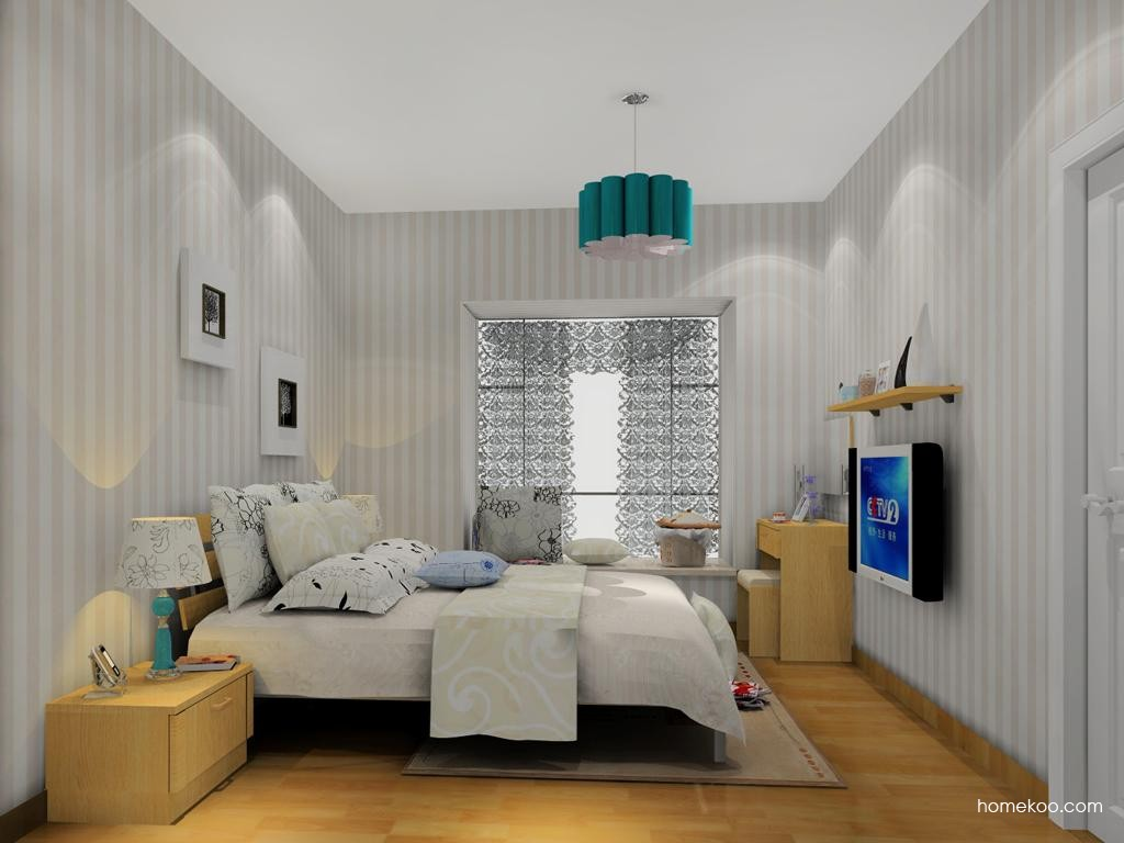 丹麦本色卧房家具A13964