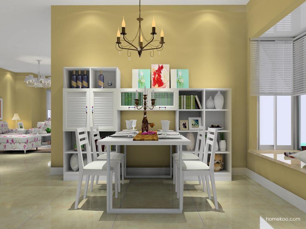 韩式田园餐厅家具E10712