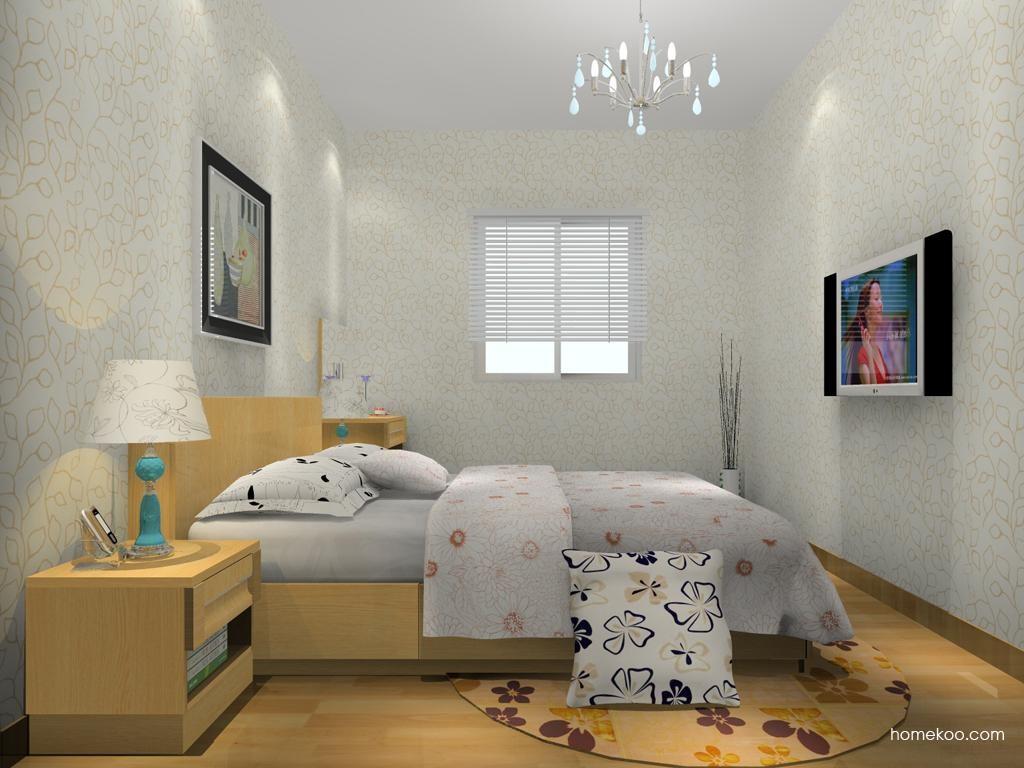 丹麦本色卧房家具A13975