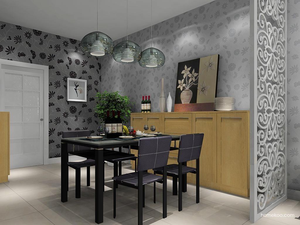 丹麦本色餐厅家具E10718