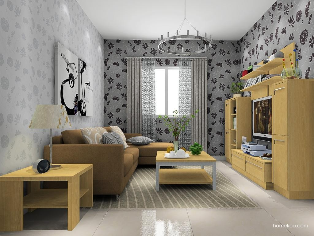 丹麦本色客厅家具D13726