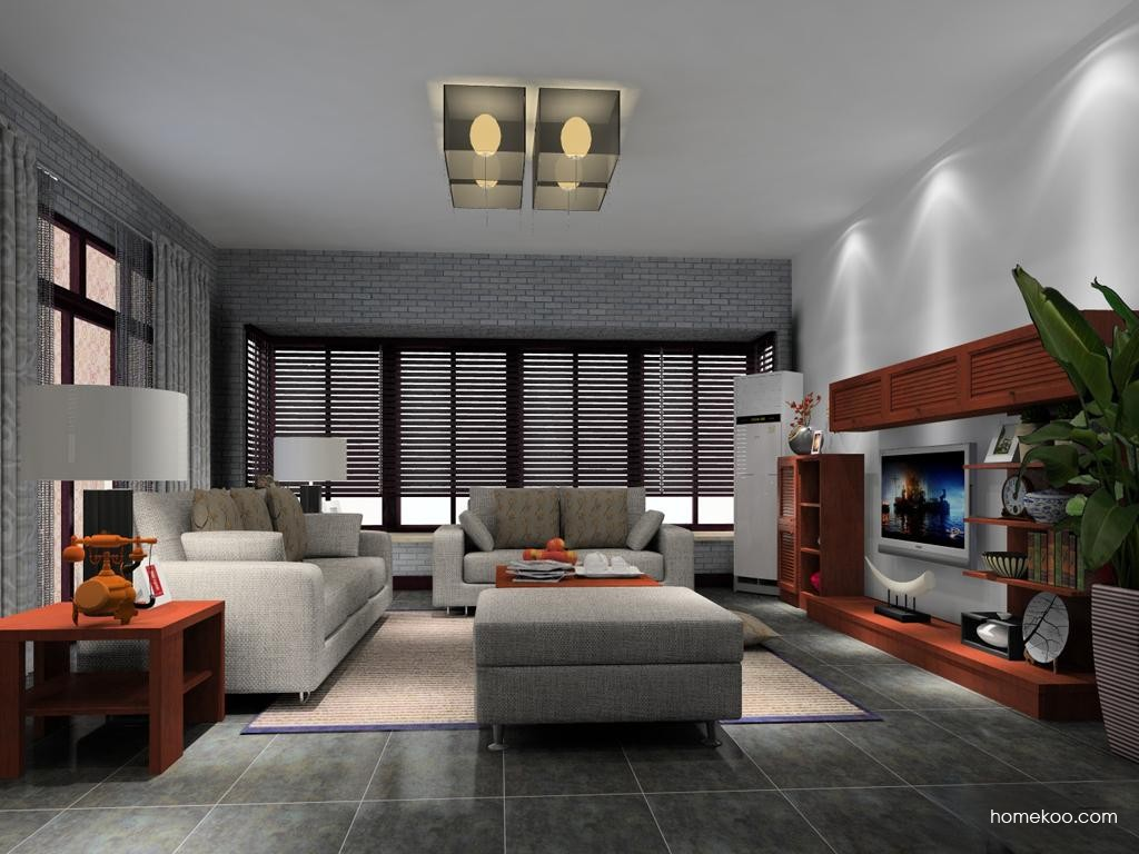 新中式主义客厅家具D13732