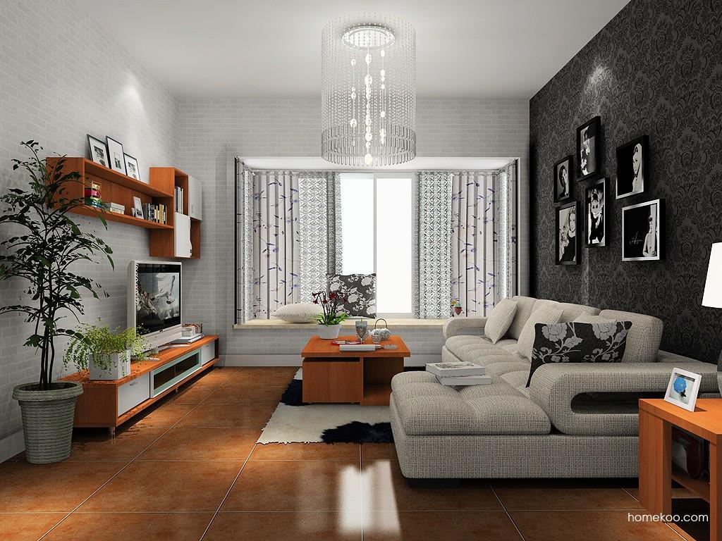 新实用主义客厅家具D13740