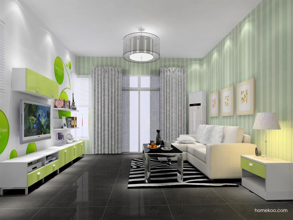 浪漫主义客厅家具D13753