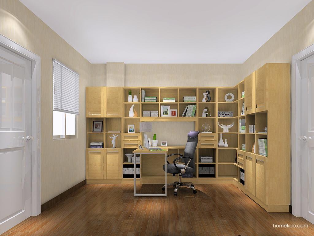 丹麦本色书房家具C11579