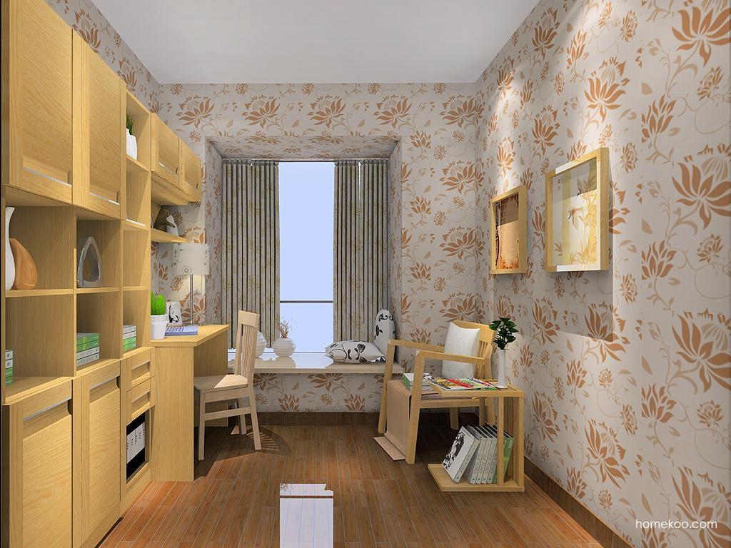 丹麦本色书房家具C11582