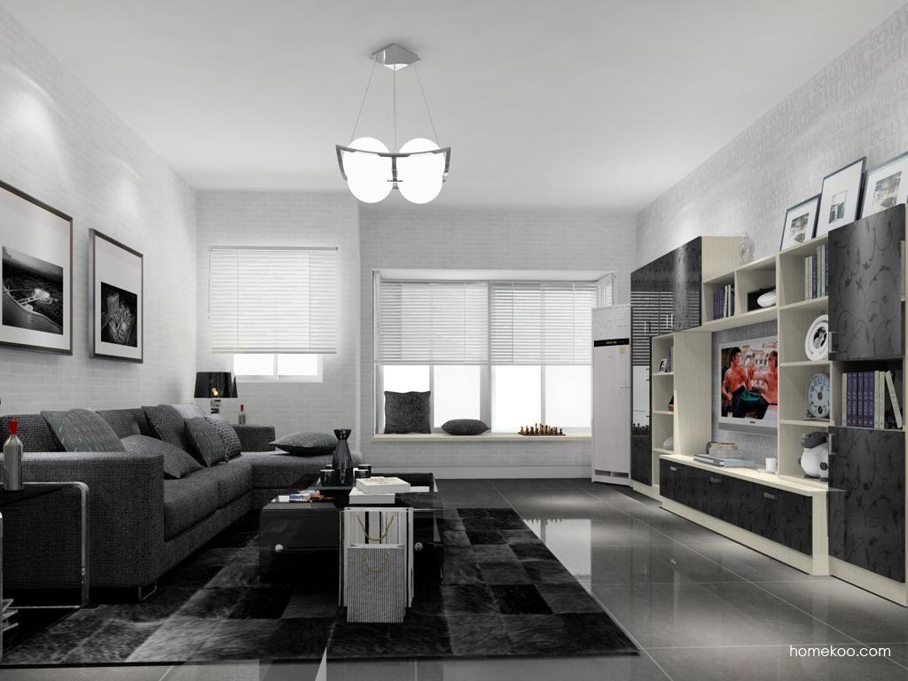 米兰剪影客厅家具D13770