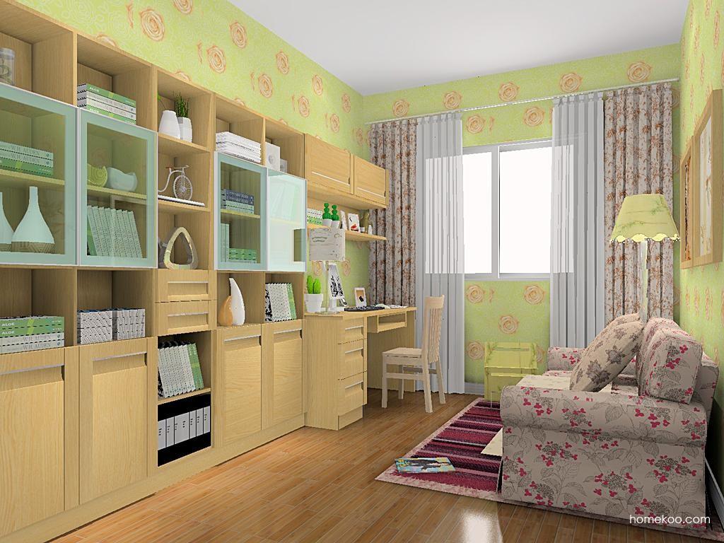 丹麦本色书房家具C11605