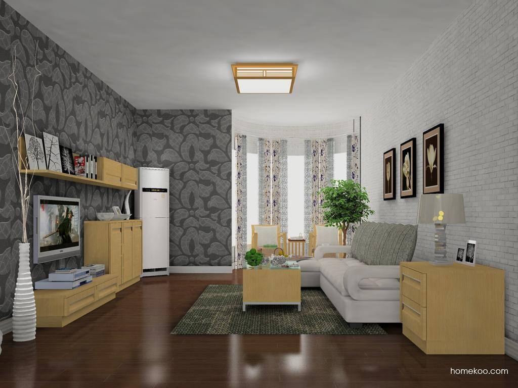 丹麦本色客厅家具D13790