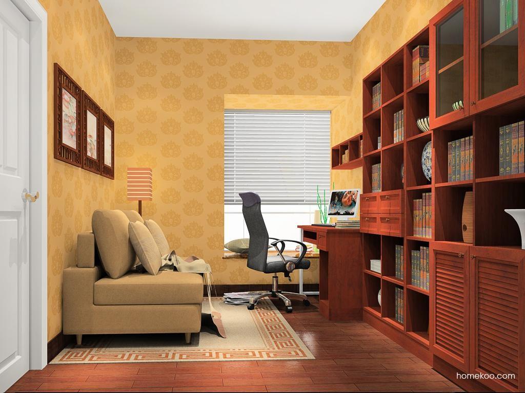 新中式主义书房家具C11632