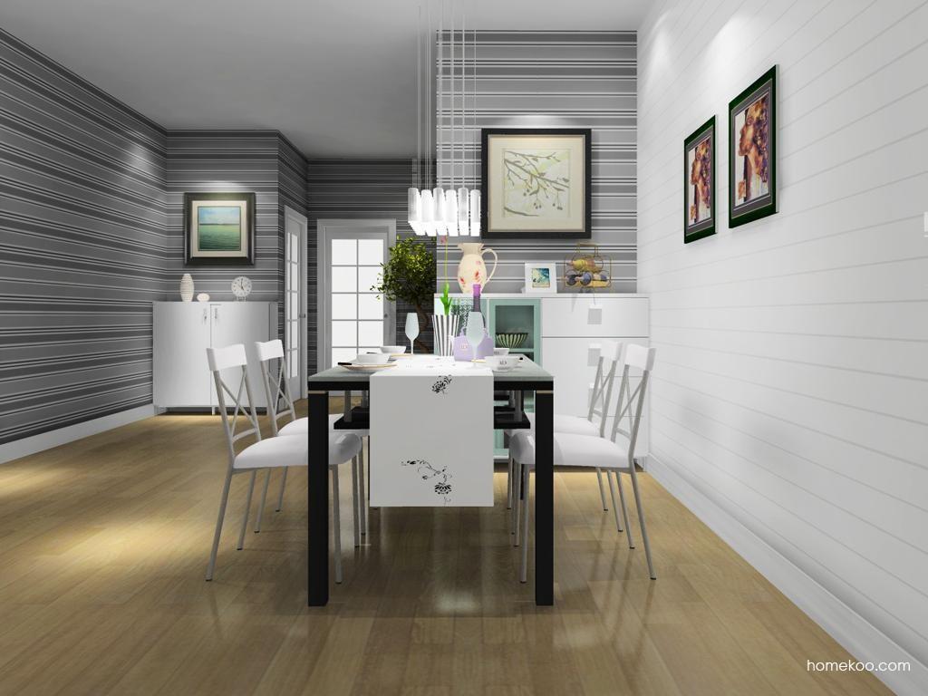 浪漫主义餐厅家具E10792